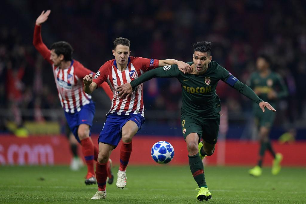 Santiago Arias - Radamel Falcao Champions League 2018