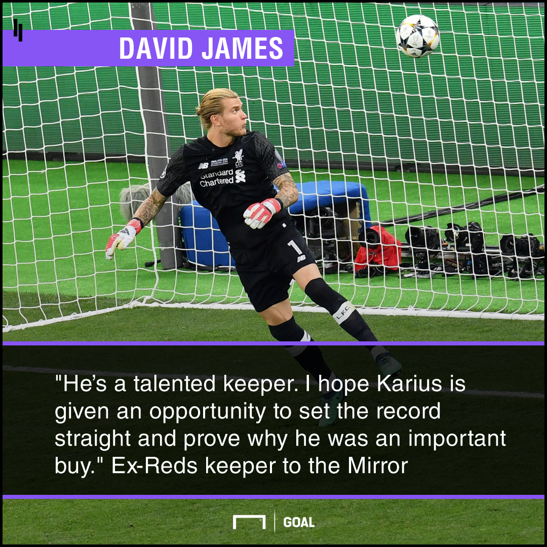 Loris Karius talent important buy David James