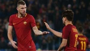 Dzeko Under Roma Benevento