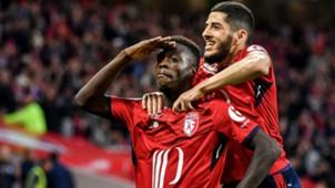 Nicolas Pepe Yassine Benzia Lille Metz Ligue 1 28042018