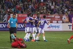 Hoang Vu Samson Nguyen Van Quyet Hanoi Binh Duong Vietnamese Super Cup 2019