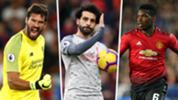 Liverpool vs Man Utd combined XI