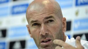 Zinedine Zidane Real Madrid Barcelona Super Cup 08152017