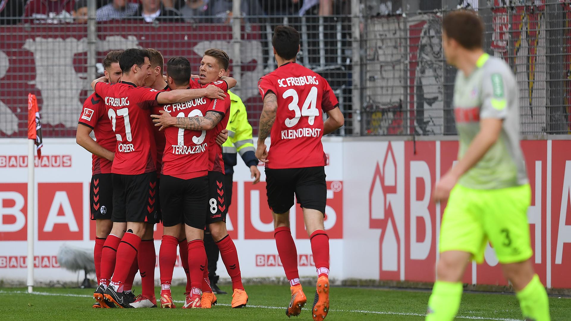 SC Freiburg 1. FC Köln Bundesliga 28042018