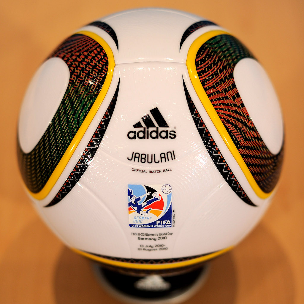 Adidas Jabulani 2010 World Cup ball