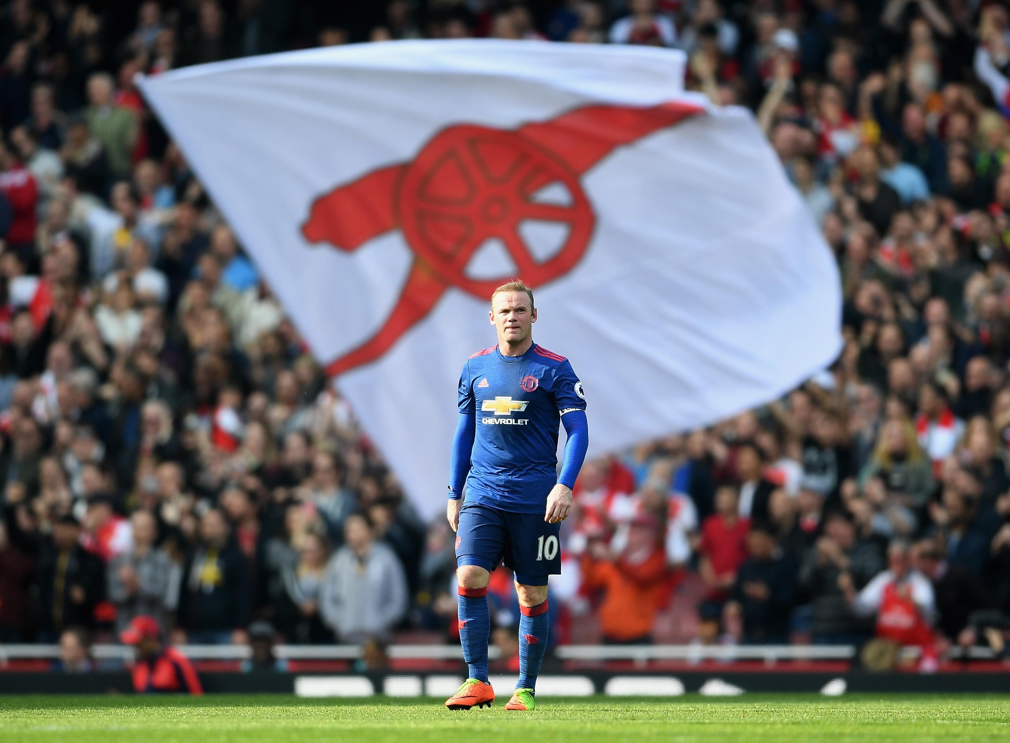Wayne Rooney Arsenal Manchester United