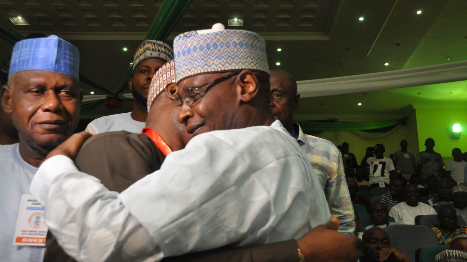 Maigari and Pinnick NFF elections