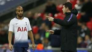Mauricio Pochettino Lucas Tottenham Premier League 05122018