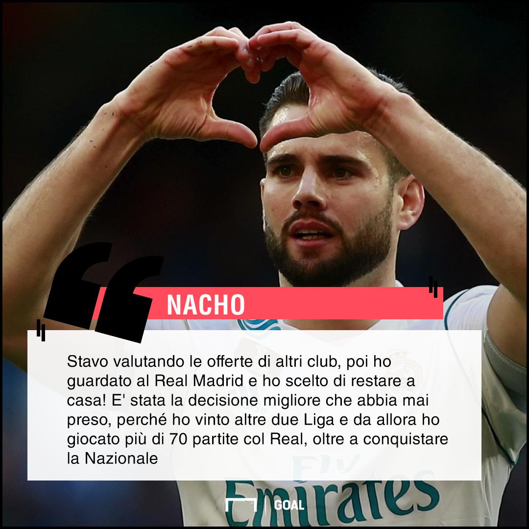 PS- Nacho Real Madrid