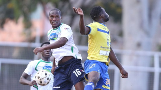 Suleiman Ngotho in action against Western Stima