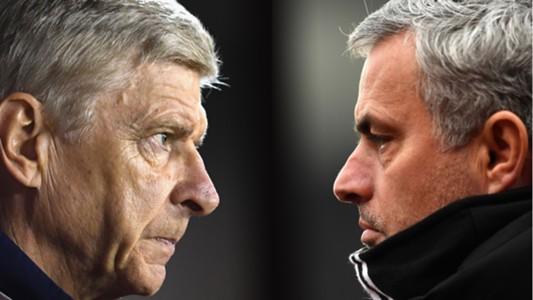 Wenger, Mourinho split