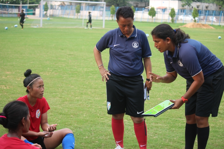 Maymol Rocky, head coach Indian women's national team