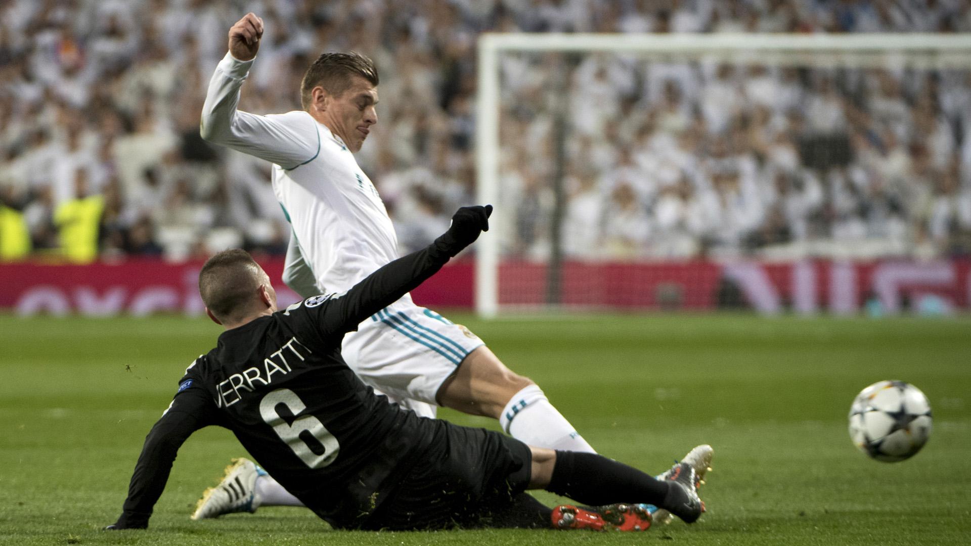 Verratti Real Madrid PSG Paris Saint Germain Champions League