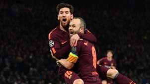 Lionel Messi, Andres Iniesta