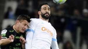 Adil Rami Franck Tabanou Marseille Guingamp Ligue 1 26112017