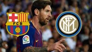 Lionel Messi Barcelona Inter