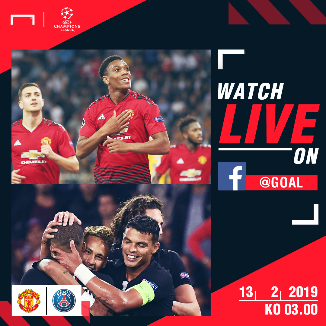 Man Utd v PSG FB