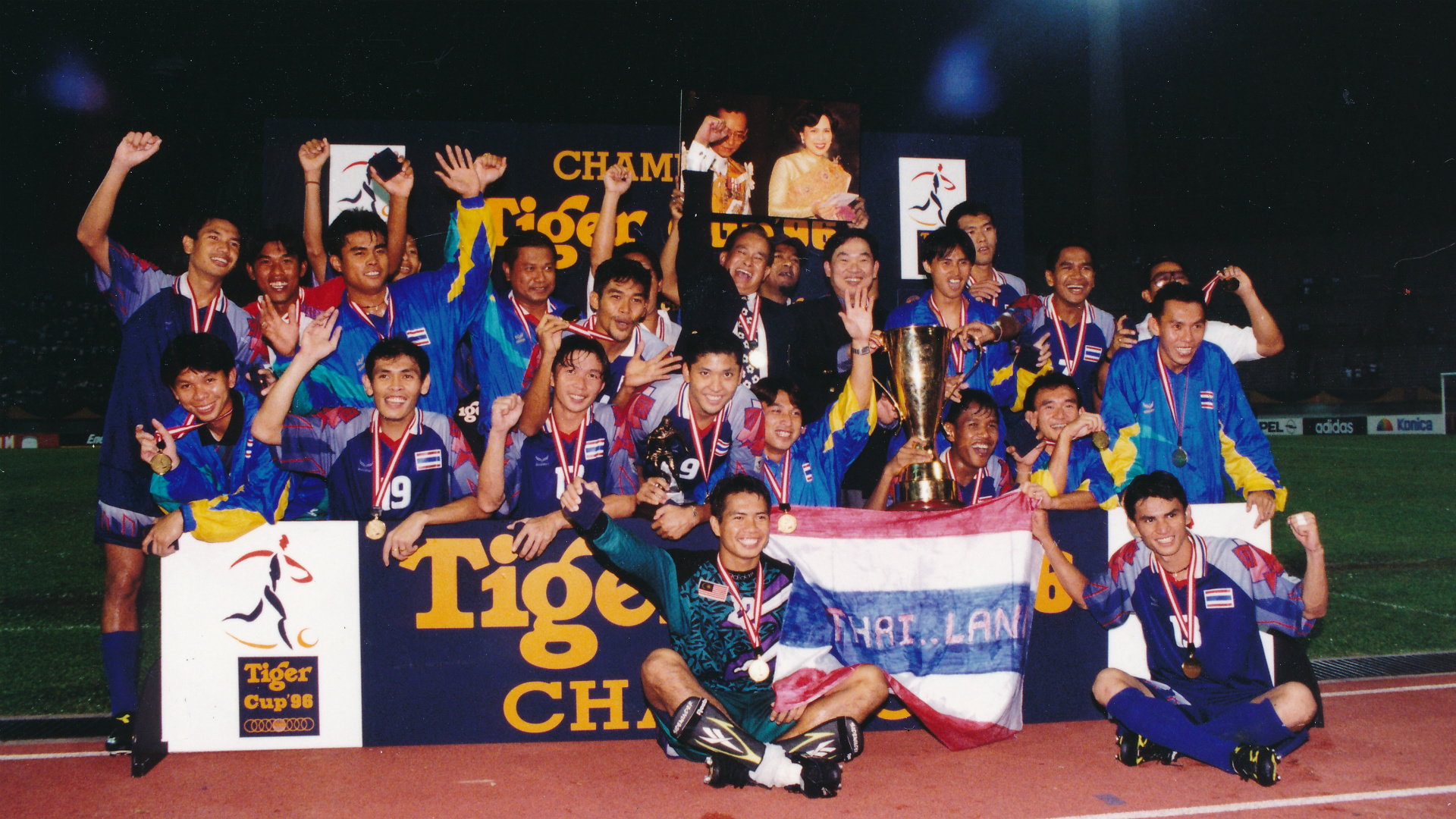 Thailand, Tiger Cup 1996
