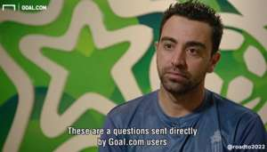 xavi goal interview