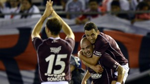 Santiago Silva Lanus River Copa Sudamericana 2013