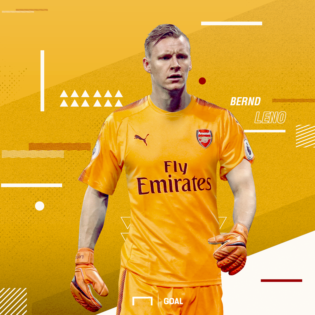 EMBED ONLY Bernd Leno Arsenal GFX