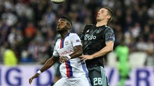 Maxwell Cornet Nick Viergever Lyon Ajax UEFA Europa League 11052017