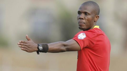 Kenyan referee Moses Osano.