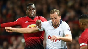 Paul Pogba Harry Kane Manchester United Tottenham 2018-19