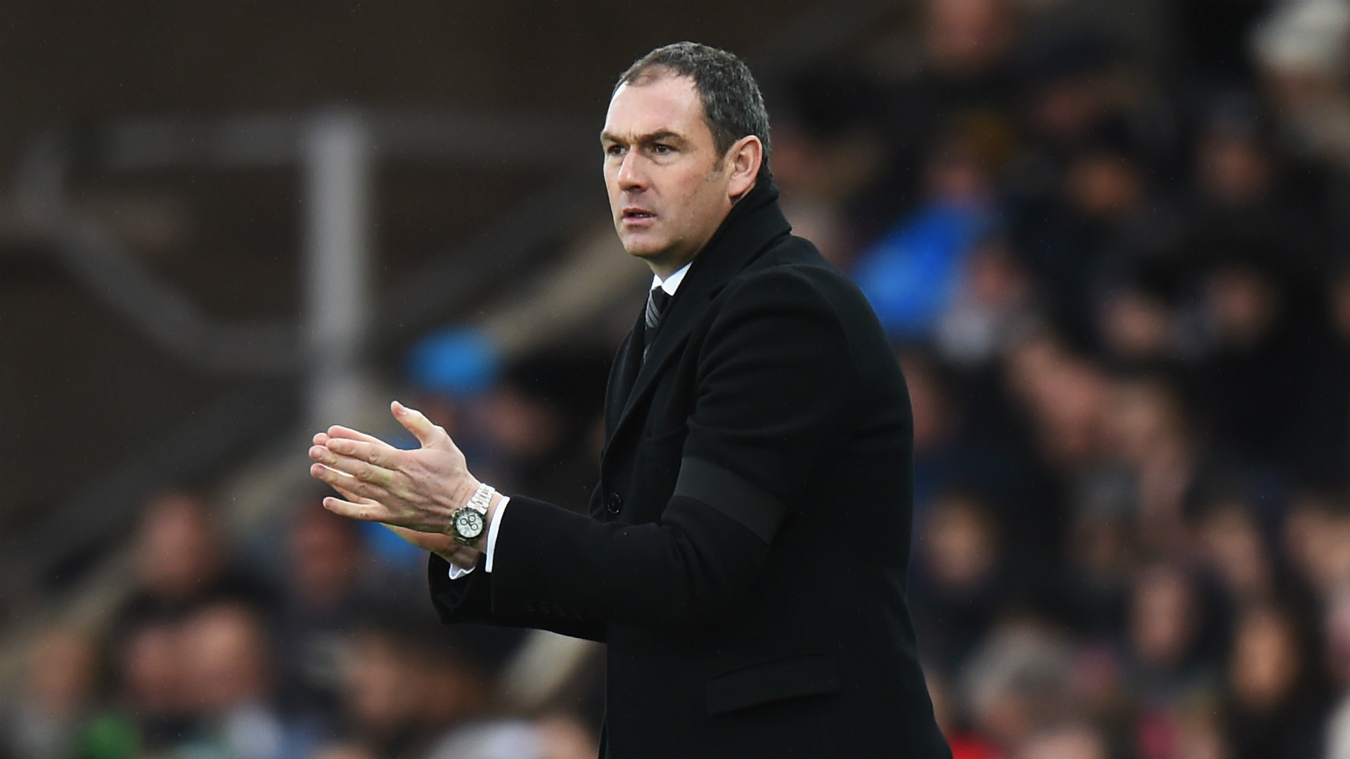 HD Paul Clement Swansea Arsenal