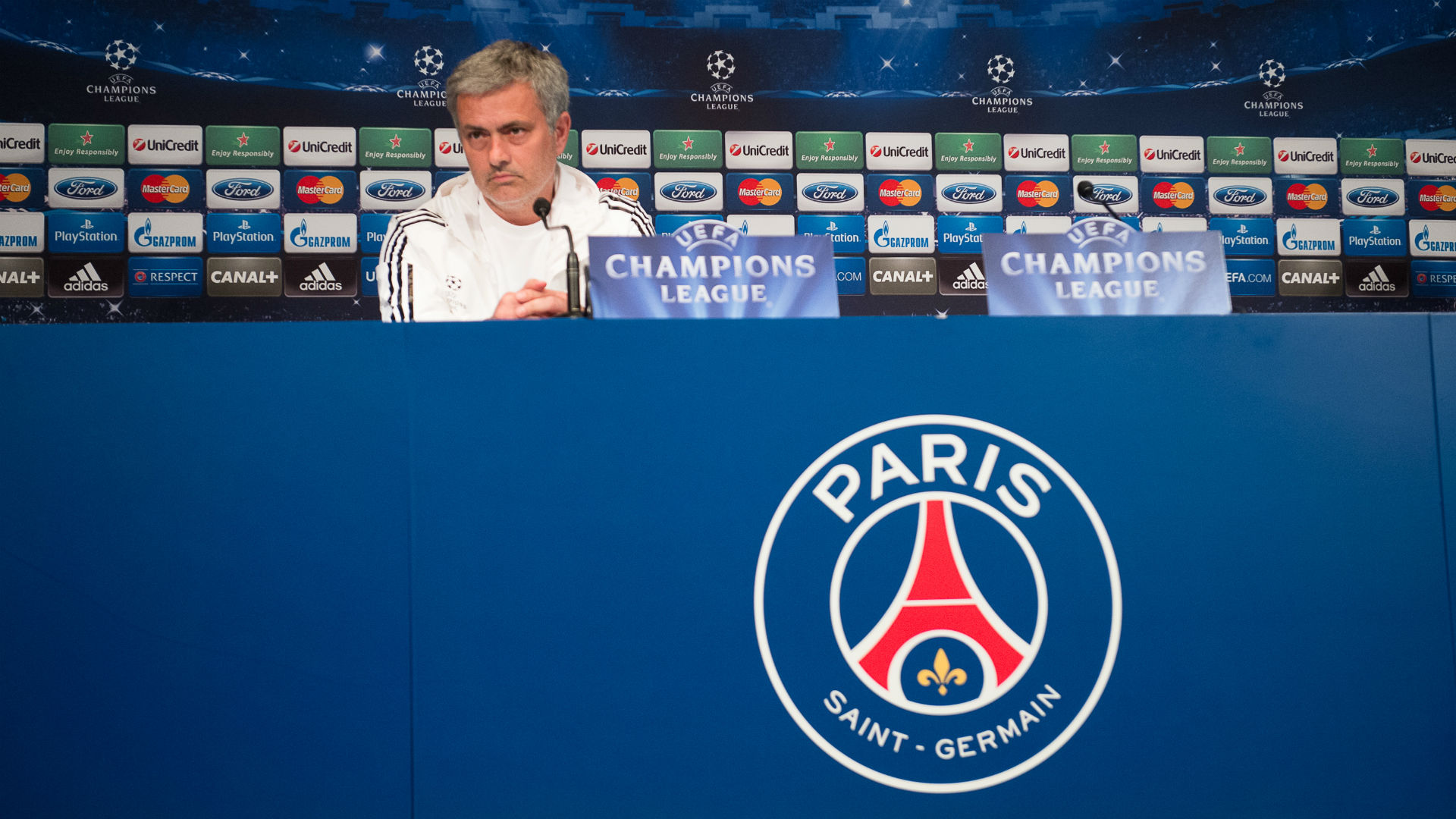 Jose Mourinho Paris Saint-Germain PSG