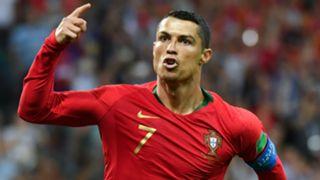 Cristiano Ronaldo Portugal Spain World Cup