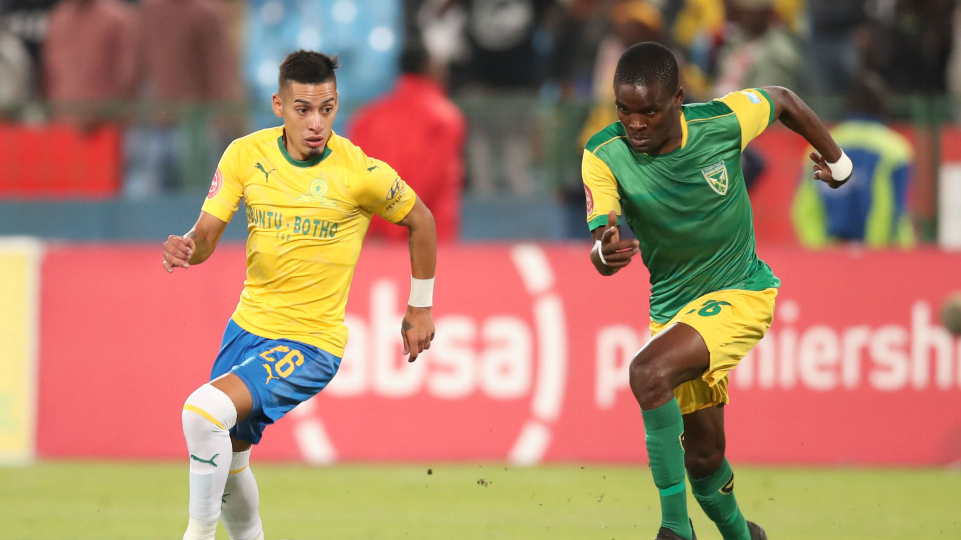 Gaston Sirino, Sundowns & Danny Phiri, Golden Arrows, May 2019