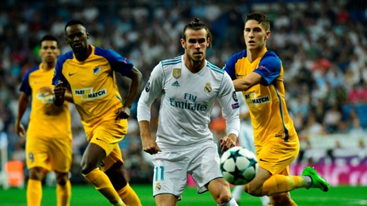 Gareth Bale Real Madrid APOEL Champions League 13092017