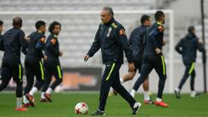 Tite Seleção Brasil treino 09 11 2017