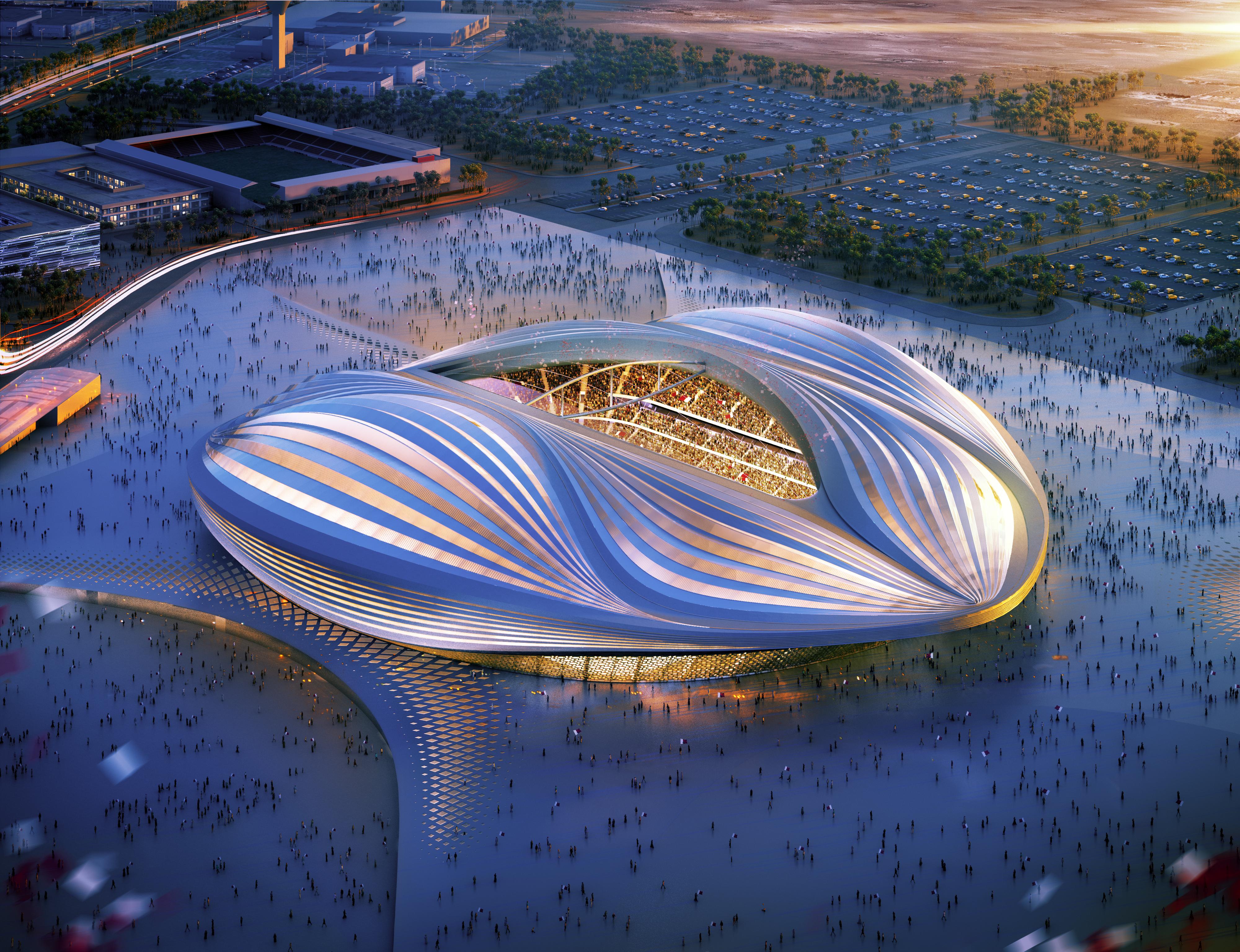 Al Wakrah Stadium World Cup 2022 Qatar