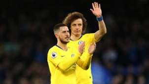 FC Chelsea David Luiz Eden Hazard