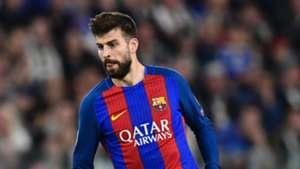 Gerard Pique Juventus Barcelona Champions League
