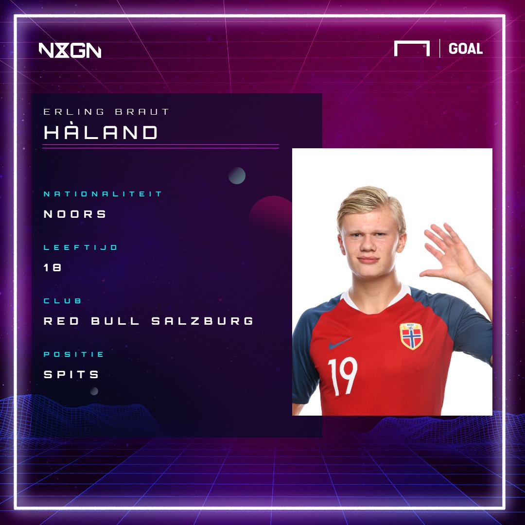 Haland, NxGn gfx Dutch