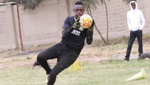 Mathare United keeper Emmanuel Otieno.