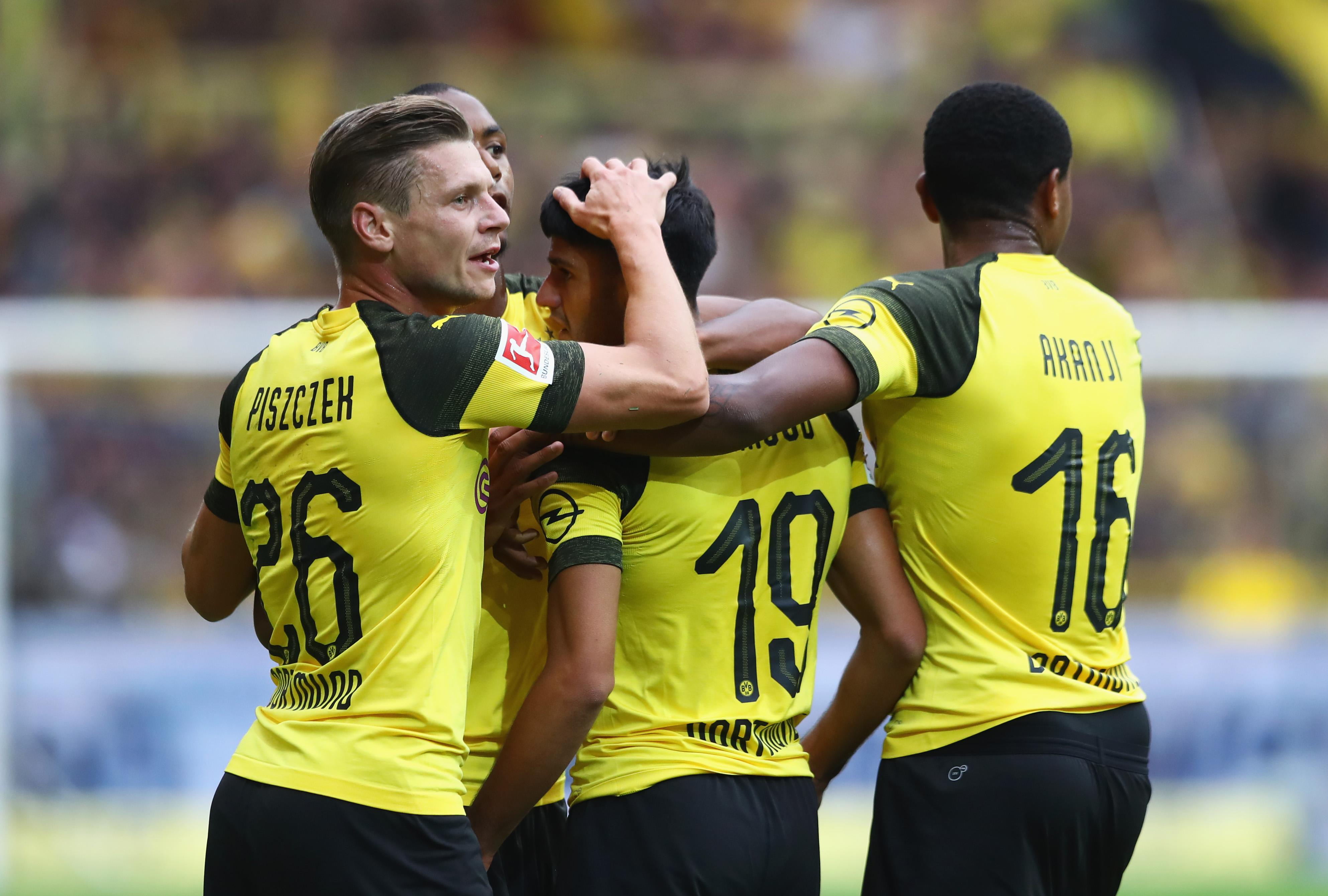 Borussia Dortmund RB Leipzig 2018