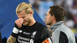 Karius Post match Real Madrid Liverpool Champions League final 26052018