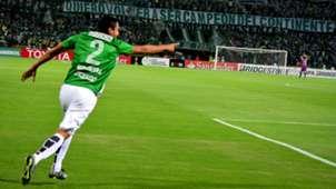 Daniel Bocanegra con Atlético Nacional en la Copa Libertadores 2016