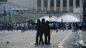 Clashes in Paris before Portugal-France