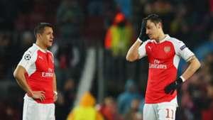 Mesut Ozil Alexis Sanchez Arsenal Premier League