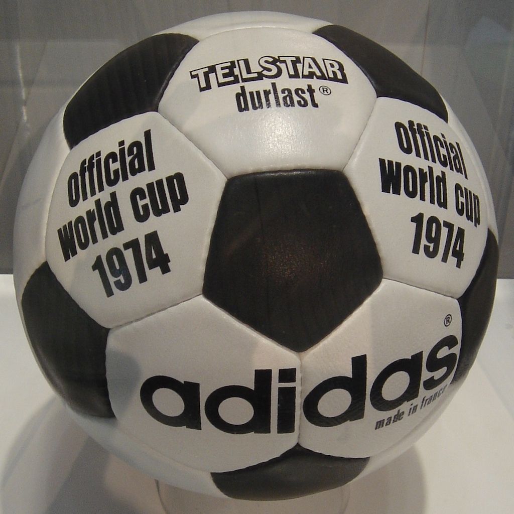 Adidas Telstar Durlast 1974 World Cup ball