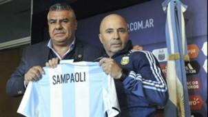 Claudio Chiqui Tapia Jorge Sampaoli Seleccion argentina 01062017