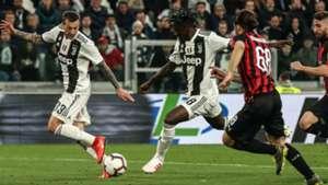 Kean Juventus Milan Serie A