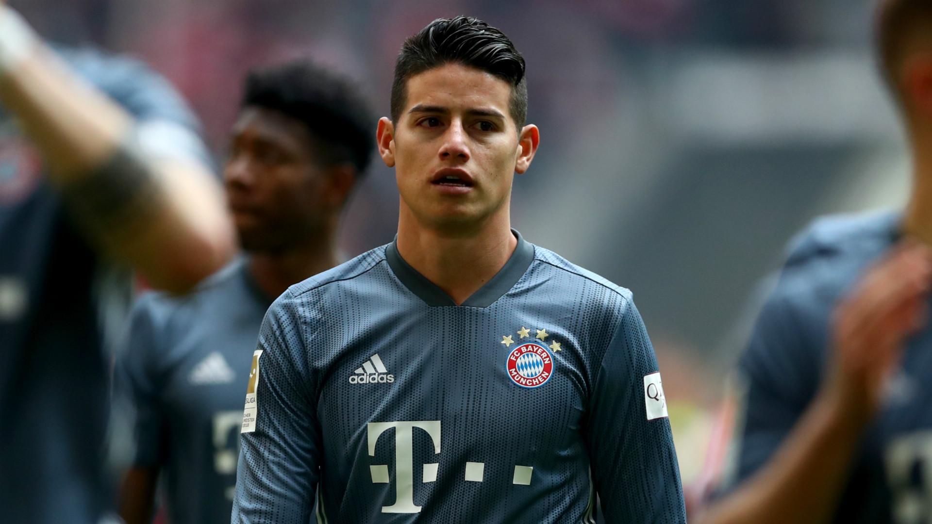 James Rodriguez Bayern Munich 20180-19