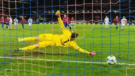 CSKA Moscow penalty