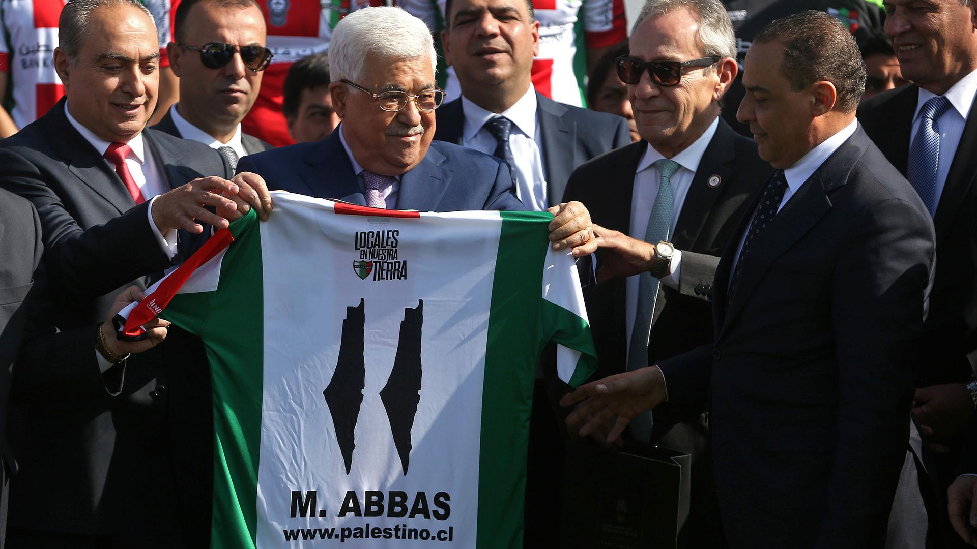 Mahmud Abbas Palestino